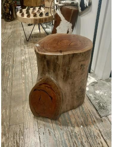 Oak wooden stool