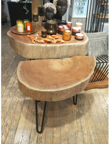 Handmade oak wood table