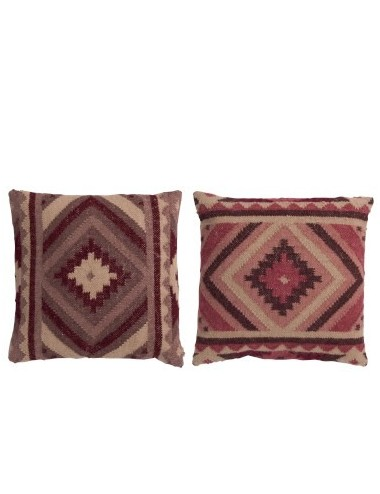 J-Line Cushion Gypsy Wool