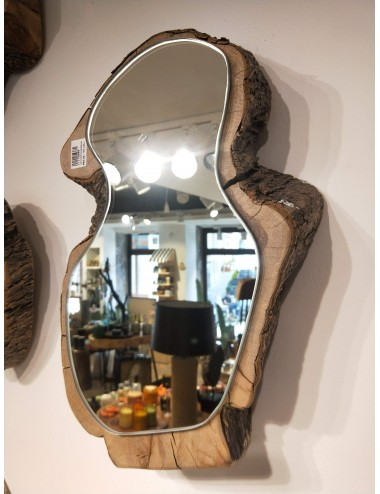 Handmade Oak wood set mirrors