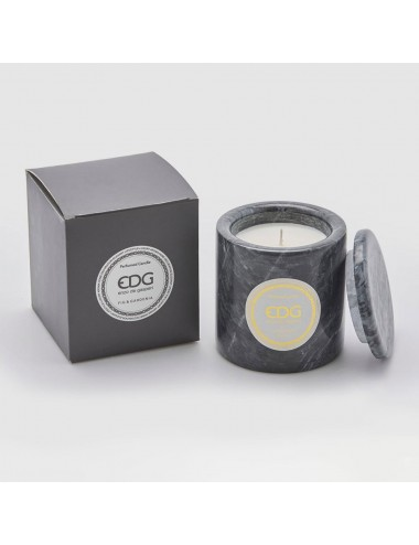 EDG Fig and Gardenia Marble Candle
