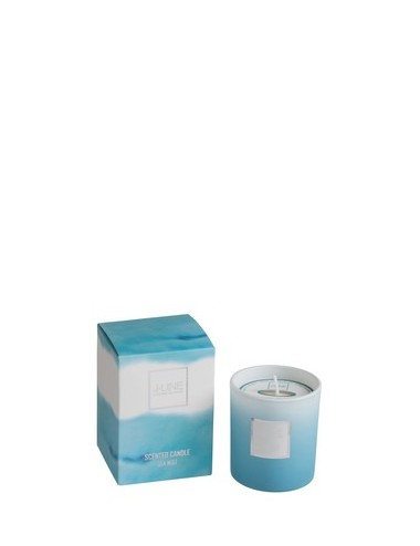 J-Line Scented Candle Sea Azure