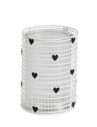 J-Line Tealight Holder Hearts Large