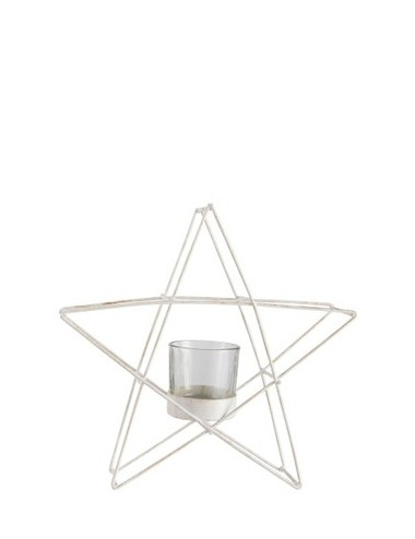 J-Line Tealight Holder Star Standing