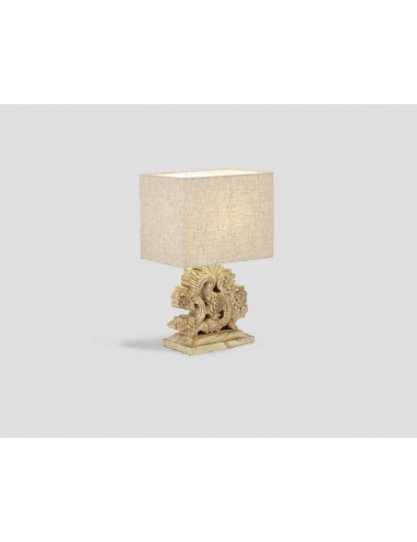 Dialma Brown Table Beige Lamp