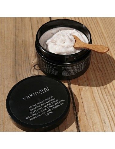 Vakin me Facial Scrub Cotton 120mL