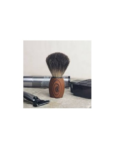 Nom Shaving Brush Pure Badger Dark Brown