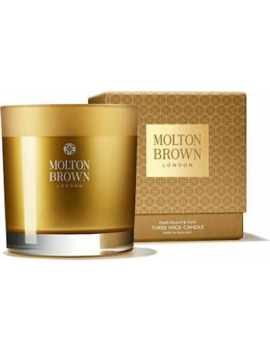 Molton Brown Mesmerising Oudh Accord Gold Candle 480gr
