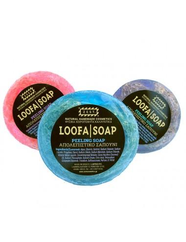 Zest Loofa Soap Large