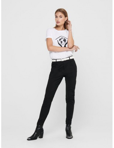 ONLY STRIKE ANKLE PANT WVN BLACK