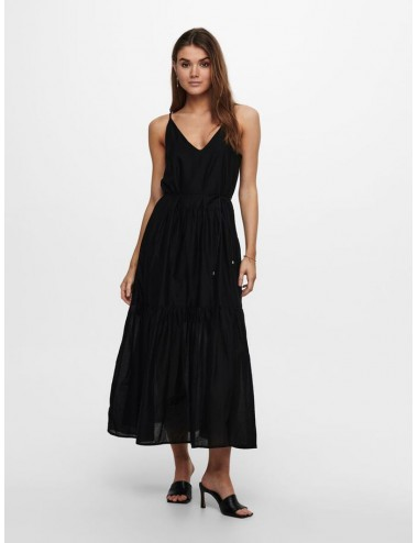 ONLY SLEEVELESS MAXI DRESS BLACK