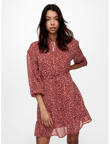 ONLY PRINTED FRILL DRESS