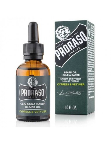 Proraso Cypress & Vetyver Beard Oil