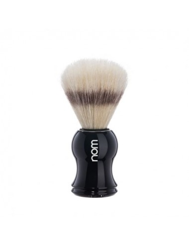 Nom Shaving Brush Pure Bristle Black