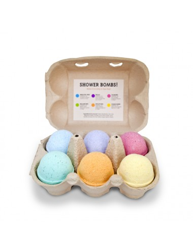 Zest 6pack Shower Bombs