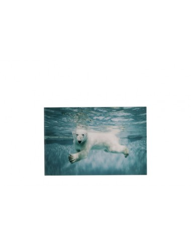 J-Line Polar Bear Swimming Glass