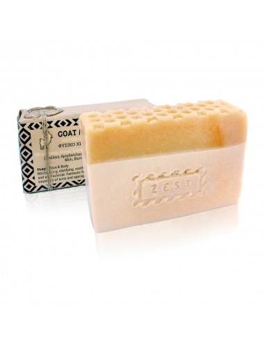 Zest Goat milk & Honey Soap