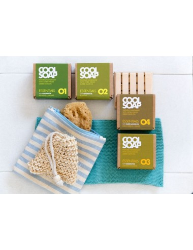 Cool Soap Green Gift Set Essentials For All