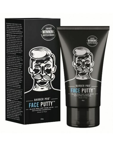 Barber pro black mask with activated charcoal